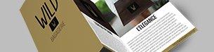 Prospectus, dépliants à faire imprimer. Plusieurs supports et finitions à disposition.