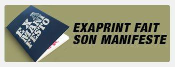 Découvrez le manifeste Exaprint